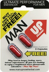 MAN UP NOW HERBAL 2 PACK 24 COUNT