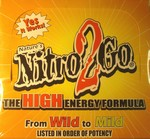 Nitro 2 Go High Energy Formula 50 Count
