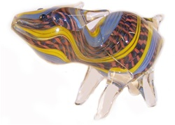 PIG GLASS PIPE