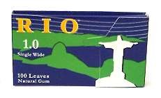 RIO SINGLE WIDTH ROLLING PAPERS 24 COUNT