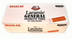 LARAMIE EMPTY CIGARETTE FILTER TUBES 200 PACK
