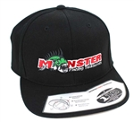 Monster Fishing Tackle 110 Snapback Black