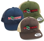 Monster Fishing Tackle Classic Snapback Trucker Hat