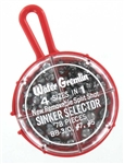 Water Gremlin Removable Split Shot Sinker Selector