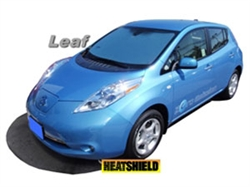Nissan Leaf Sun Visor and Heat Shield by Canvas Works