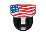 American Flag Hitch Step