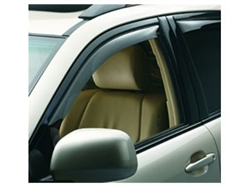 Side Window Deflectors for  2012 Ford Fusion and Mercury Milan