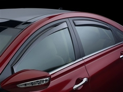 2011-2014 Hyundai Sonata Hybrid In Channel Side Vent Visors
