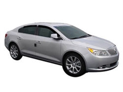 Side Window Deflectors for 2012-2014 Buick Lacrosse eAssist