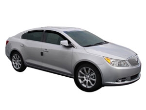 Side Window Deflectors for  Buick Lacrosse eAssist