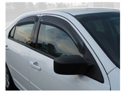 Lincoln MKZ Side Window Deflector and Fusion Vent Visors