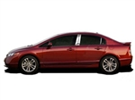 Honda Civic Hybrid Chrome Door Trim Molding