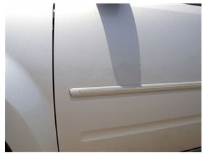 Chrome Line Body Side Moldings for Ford Escape and Mercury Mariner