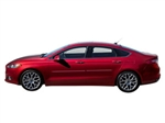 Chrome Body Side Moldings for the 2013-2015 Ford Fusion