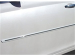 Buick Regal Hybrid Painted Side Body Moldings with Chrome Inserts