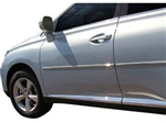 Chrome Body Side Moldings for the 2010-2015 Lexus RX 450h