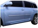 Chrome Body Side Moldings for the Toyota Highlander