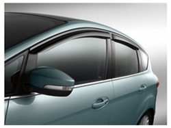 - Ford C-Max Side Window Deflector and C-Max Vent Visors