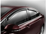 2013 Ford Fusion Side Window Deflector and Fusion Vent Visors