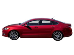 2013-2014 Fusion Side Body Molding and Door Paint Protection