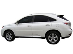 Painted Side Moldings for 2010-2014 Lexus RX450h