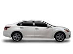 Nissan Altima Hybrid Chrome Body Side Molding