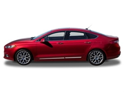 Chrome Body Side Moldings for the 2013-2014 Ford Fusion