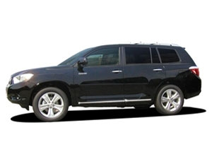 Chrome Body Side Moldings for theToyota Highlander