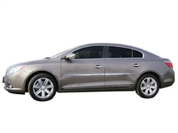 Chrome Body Side Moldings for 2012-2014  Buick LaCrosse