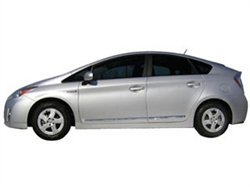 Chrome Body Side Moldings for 2010 & 2011 Toyota Prius