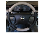 Two-Tone Steering Wheel Cover for Chevy Malibu