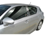 2011, 2012, 2013, 2014 Lexus CT200h Hybrid Chrome Door Trim Molding