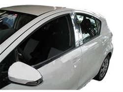 Toyota Prius c Hybrid Chrome Door Trim Molding