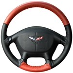 Two-Tone Steering Wheel Cover for Chevrolet Volt