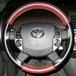 Two-Tone Steering Wheel Cover for 2010 Toyota Prius