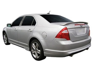 2010-2012 Ford Fusion and Mercury Milan Painted Rear Spoiler