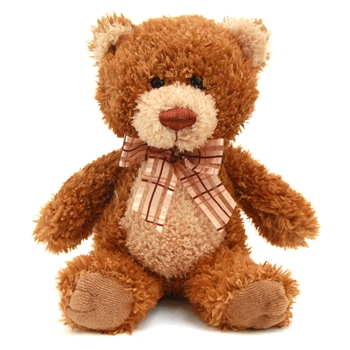 Baby Brown Sugar the 8 Inch Plush Brown Teddy Bear By Aurora