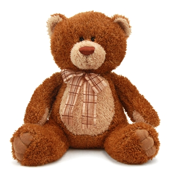 Brown Sugar Jr. the 12 Inch Plush Brown Teddy Bear By Aurora
