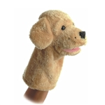 Garth the Dog 10 Inch Puppet by Aurora