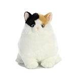 Munchy the Stuffed Calico Cat Fat Cats by Aurora