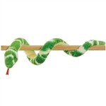 Plush Emerald Tree Boa Snake by Aurora