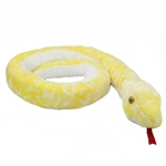 Albino Burmese Python 50 Inch Snake Stuffed Animal by Aurora