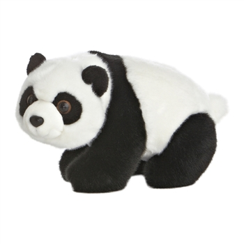 Lin Lin the Small Stuffed Panda Bear by Aurora