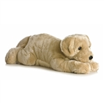 Super Garth the Jumbo Stuffed Yellow Lab Super Flopsie by Aurora