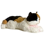 Super Esmeralda the Jumbo Stuffed Calico Cat Super Flopsie by Aurora