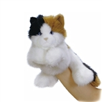 Esmeralda the Plush Calico Cat Puppet by Aurora