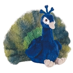 Perry the Stuffed Peacock by Aurora