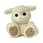 Baabsy 10 Inch Taddle Toes Lamb Stuffed Animal by Aurora