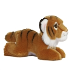 Realistic Stuffed Tiger 8 Inch Plush Wild Cat By Aurora