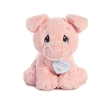 Precious Moments Bacon Piggy Stuffed Animal by Aurora